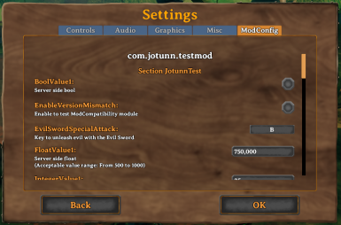 BepInEx Settings Sync and GUI