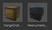 Cargo Crate, Heavymetal Safe