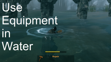 Use Equipment in Water