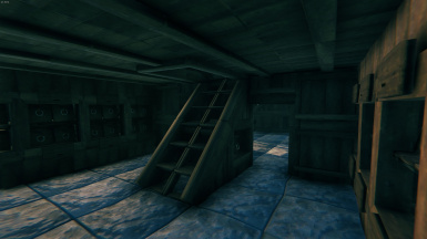 Storage Room and Staircase
