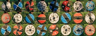 More Round Shield Paints