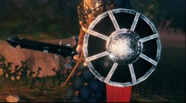 Weapon replacer - Iron Sword and Wood Shield