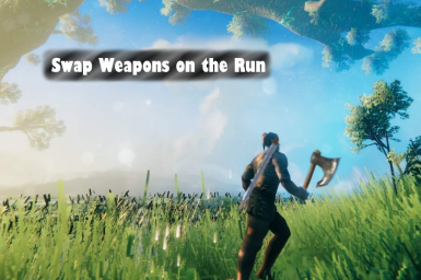 Swap Weapons on the Run