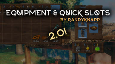Equipment and Quick Slots
