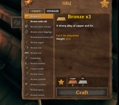Triple Bronze BROKEN