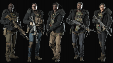 Hound Wolf Squad - No Mask And Helmet