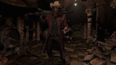 Dante is Heisenberg with clothes