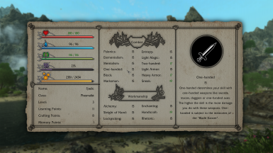 Dear Diary - Paper UI Replacer for Enderal SE