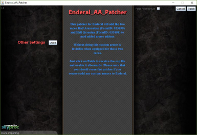 Enderal ArmorAddon Patcher
