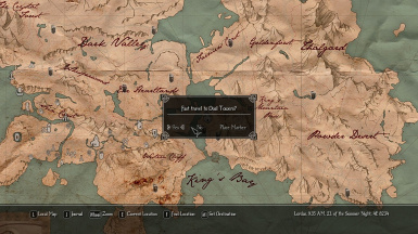 Enderal SE - Dynamic Fast Travel
