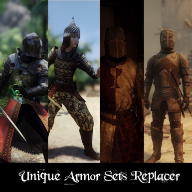 Unique Armor Sets Replacer Enderal SE