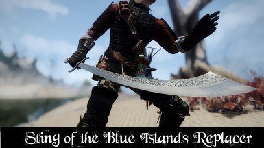 Sting of the Blue Islands Replacer