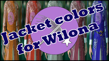 Jacket Colors for Wilona