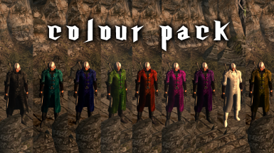 Devil May Cry 1 Dante's Outfit Color Pack