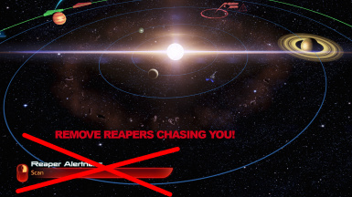 No reaper alertness and faster system scanning in ME3 LE