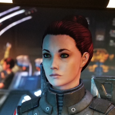 Shepard Face Code and HeadMorph  (ME2 added)