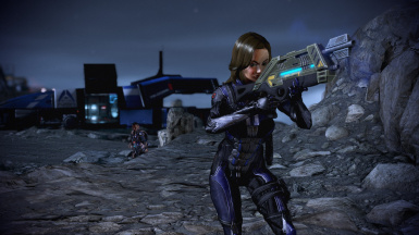 Alliance stealth adds a silver ab plating and spine, as well as custom gauntlets
