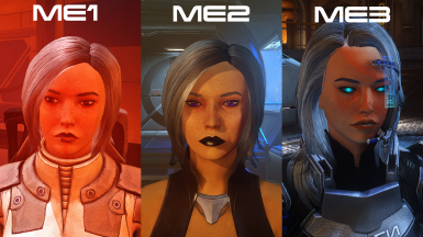 Yuan Shepard Headmorphs for the whole trilogy