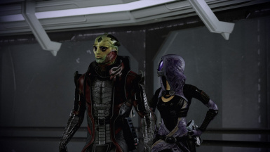 Recruiting Jack with Thane and Tali