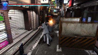 No more hit bounce on block (Yakuza 6 Version)
