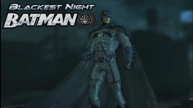 Blackest Night Batsuit