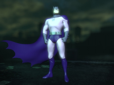Baman animated Batsuit