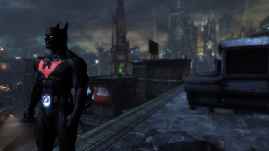 Dark Theme Batman Beyond for Arkham City