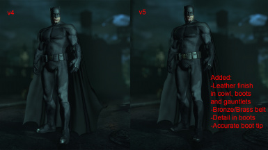 Ben Affleck Batman Suit