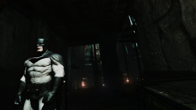 White Knight skin mod for Arkham City