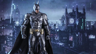 Batman's Default Outfit From Arkham Knight In Arkham City