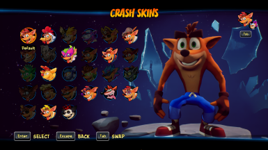 Crash On The Run Skin
