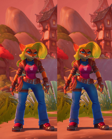 Left: NST Hair Unaltered face Right: NST Hair Face Edit