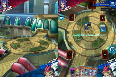 Station Square (Zexal) - Duel Background