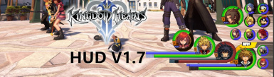 Kingdom Hearts II HUD-Portraits
