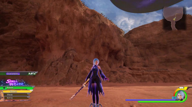 Anti Aqua Voice Clips Keyblade and HUD