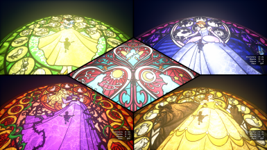 DOC - Stained Glass Replacer Princesses