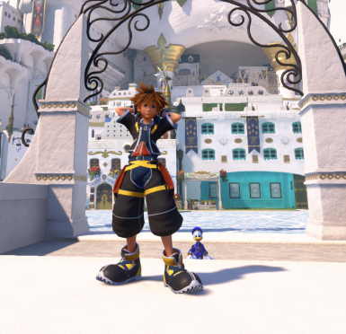 Play as Kingdom hearts 2 Sora (Cutscenes dont work)