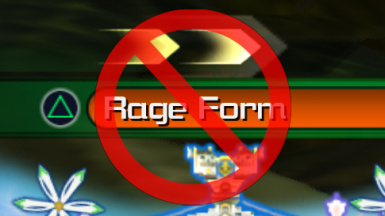 No Rage Form Situation Commands