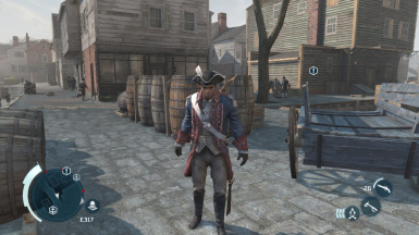Assassin's Creed 3 American And British Captain And Officcer Mod