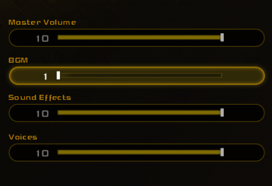 Volume Sliders can be Fully Muted (KH1)