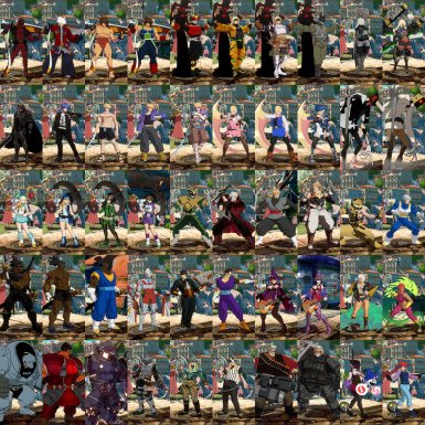 50 character mod pack Strive