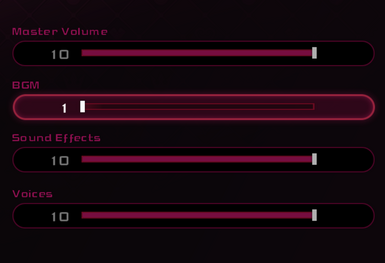 Volume Sliders can be Fully Muted (DDD)