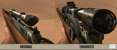 Lee-Enfield No.4 Mk.1 with scope