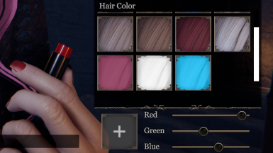 More Hair Colors