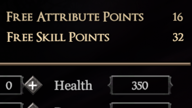More Skill Points