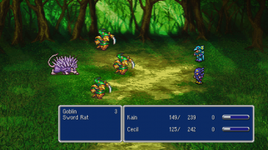 Preview of reworked FFIV battle background