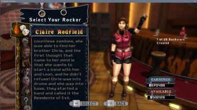 Resident Evil 2 (1998) - Claire Redfield