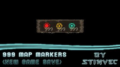 999 Map Markers (New Game)