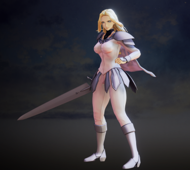 Kisaras Teresa from Claymore - replacer for default armor