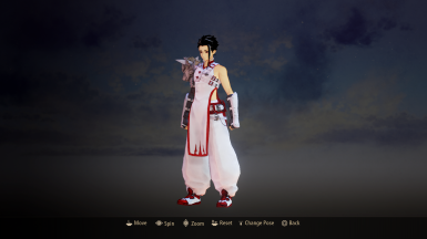 Law - White-Red Default Costume Replacer